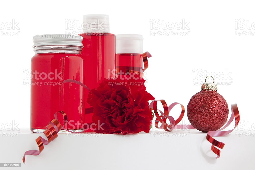 Christmas packshot composition royalty-free stock photo