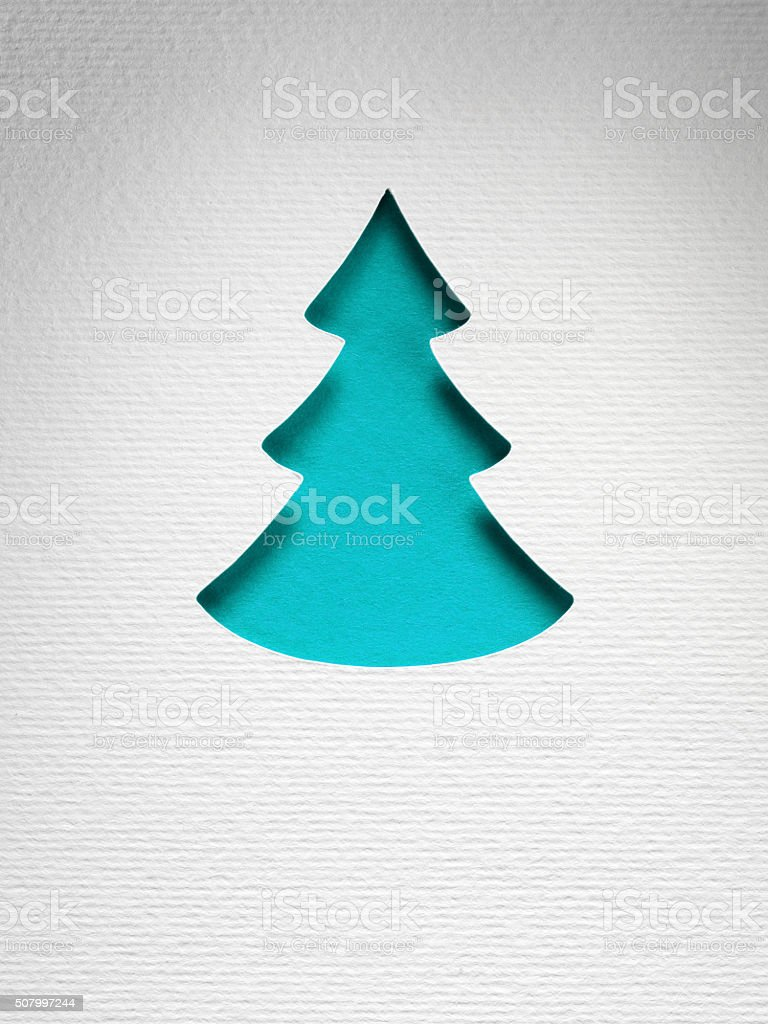 christmas paper background texture, papercraft theme stock photo