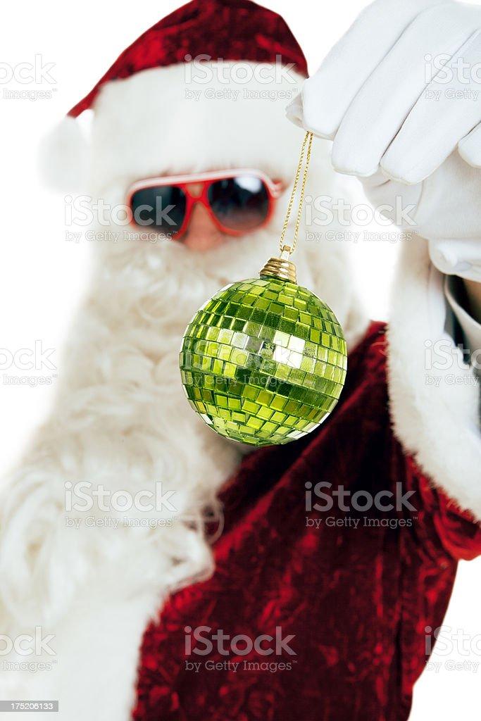 Christmas Party Santa royalty-free stock photo