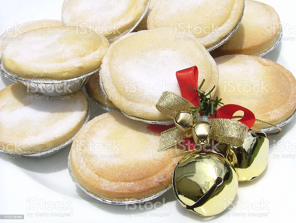 Christmas Pies royalty-free stock photo