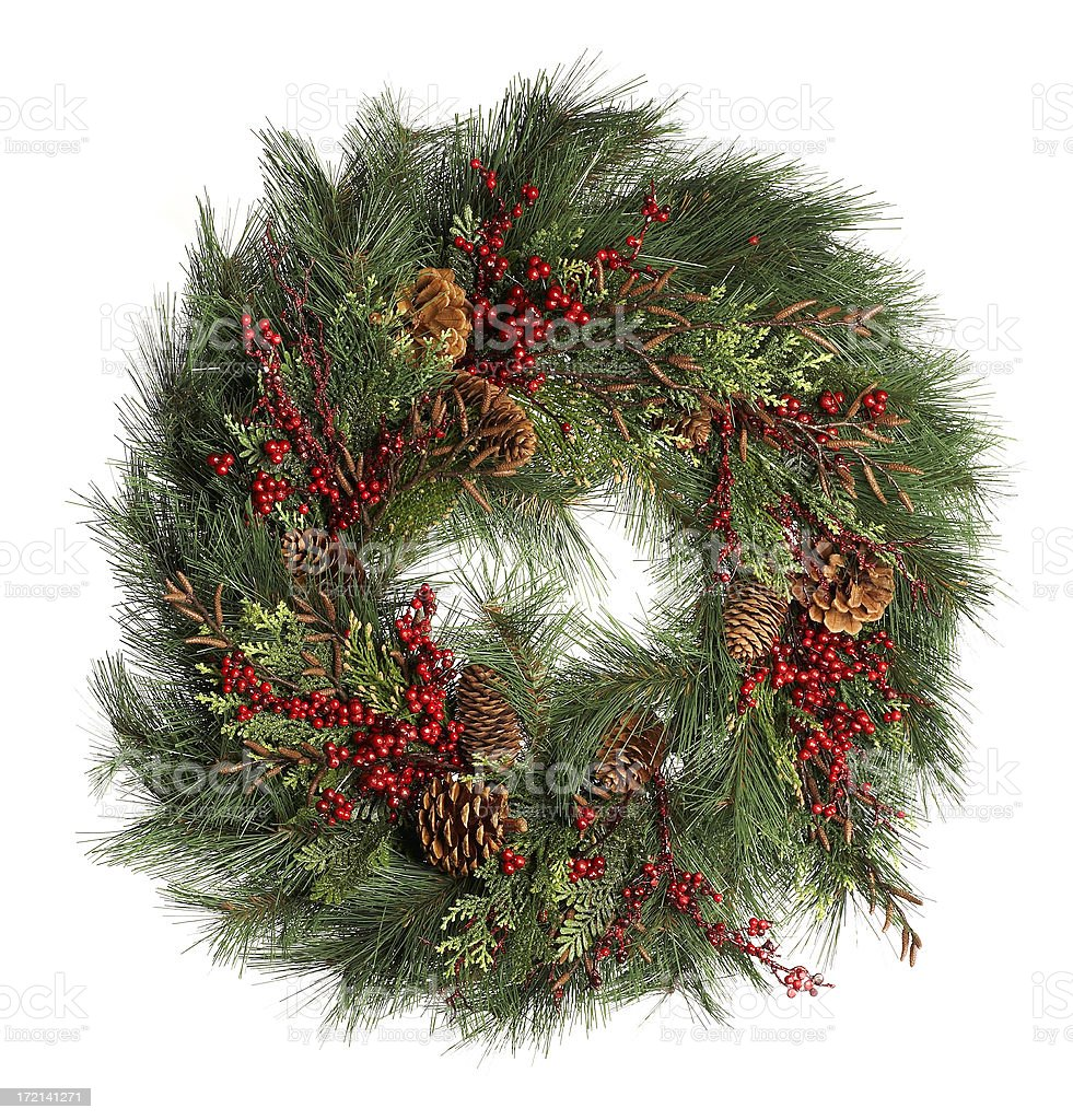 Christmas Pine royalty-free stock photo
