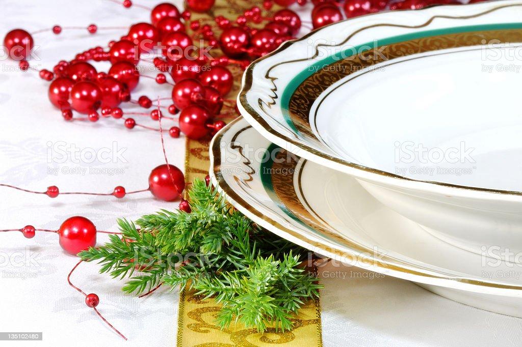 Configuração de Natal foto royalty-free