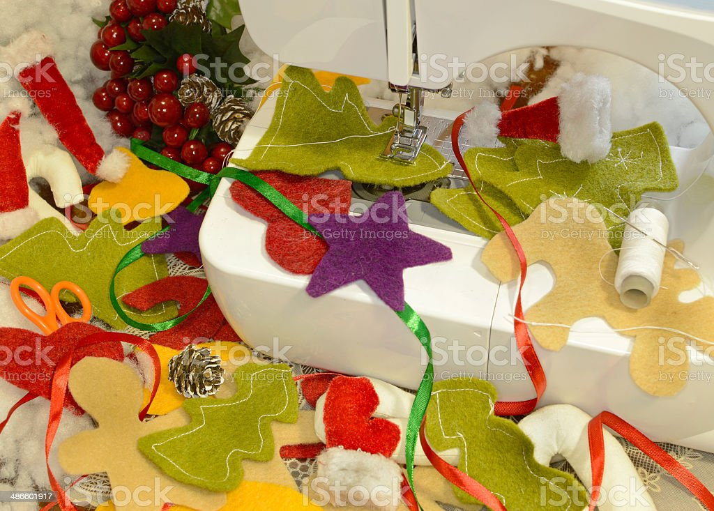 Christmas preparations royalty-free stock photo