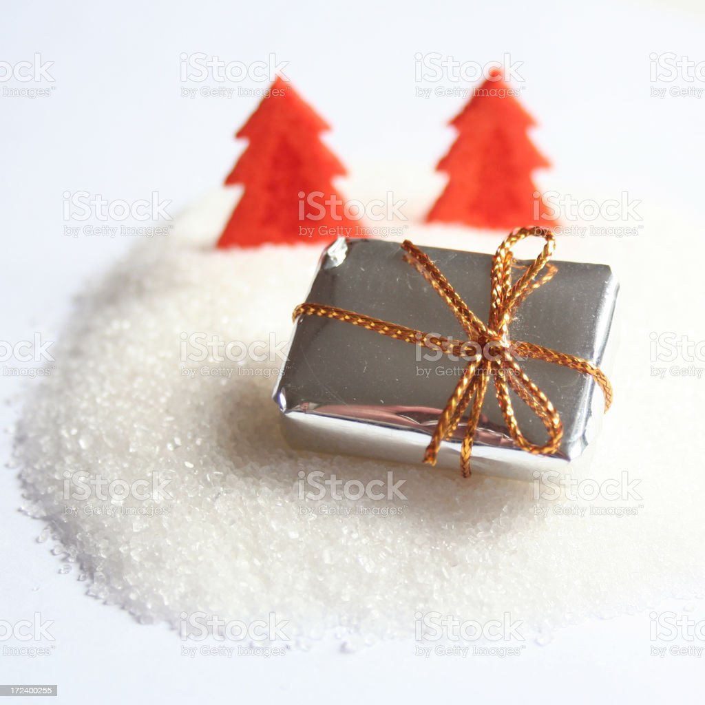 Christmas Present royalty-free stock photo