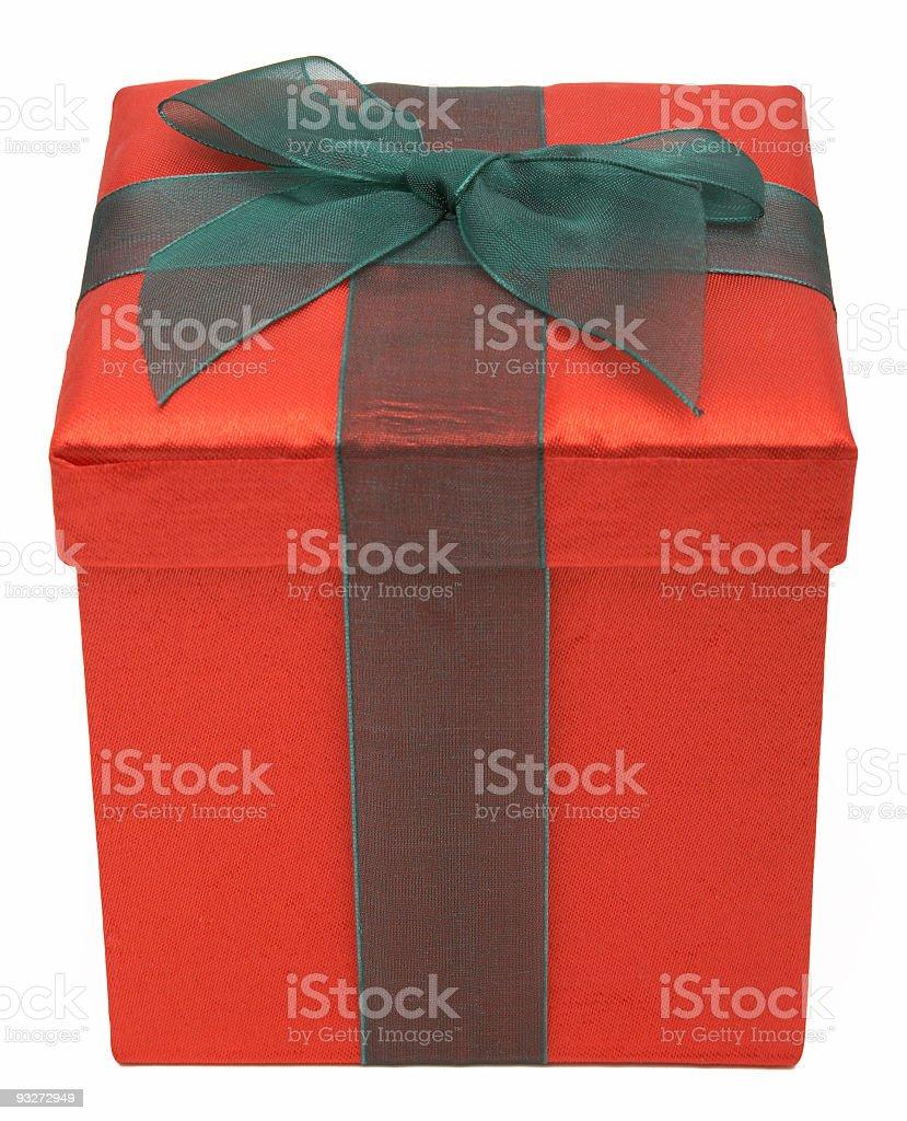 Christmas Present (Clip Path) stock photo