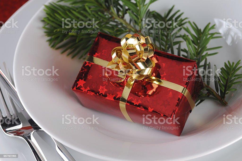 Christmas Present Time royalty-free stock photo
