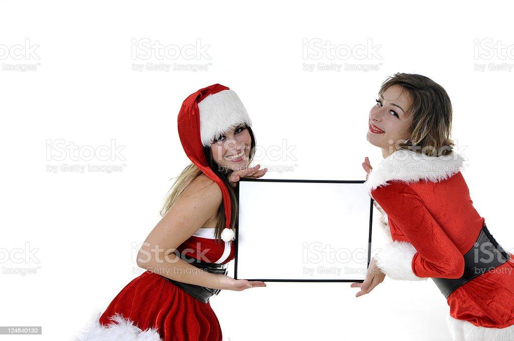 christmas presentation royalty-free stock photo