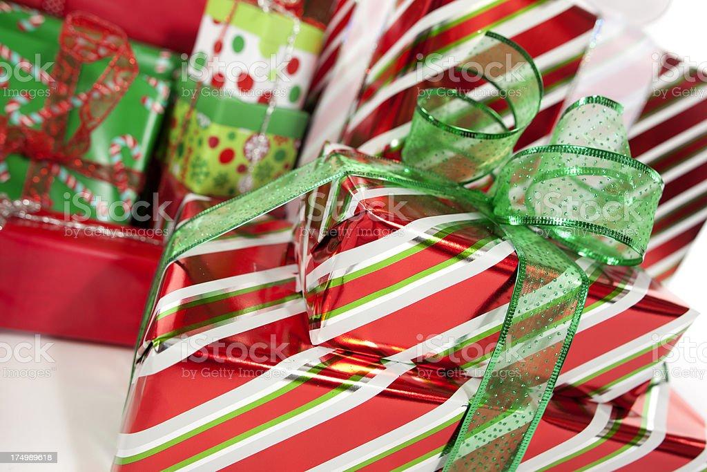 Christmas Presents. royalty-free stock photo
