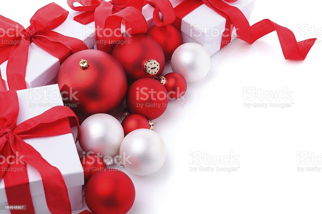 Christmas presents royalty-free stock photo