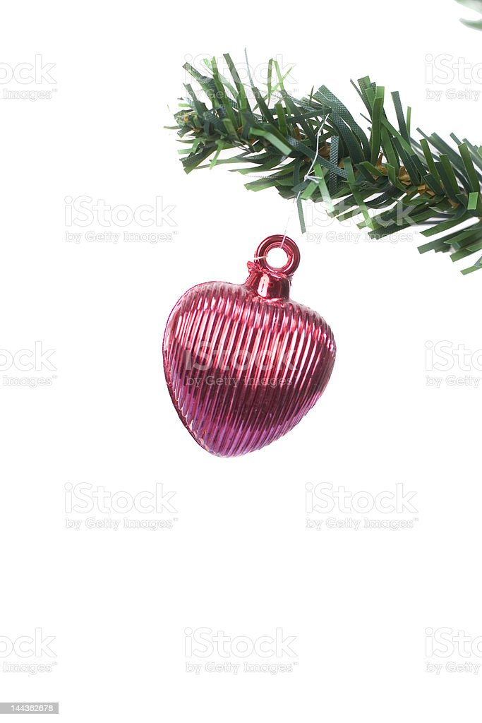 christmas red object  hanging royalty-free stock photo