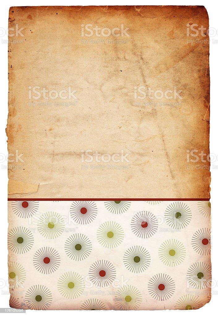 Christmas Retro Snowflake Background stock photo