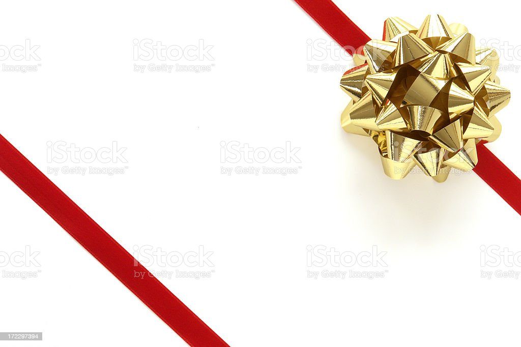 Christmas Ribbon royalty-free stock photo