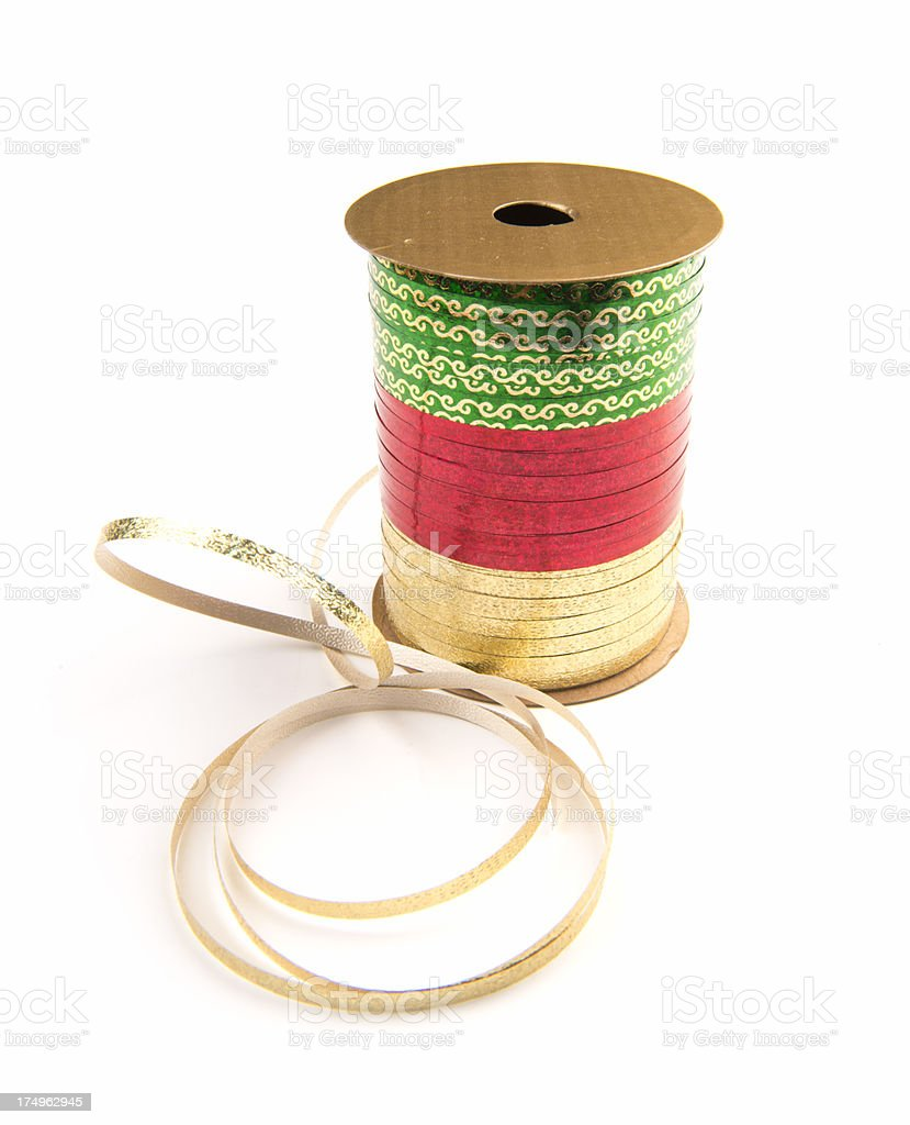Christmas Ribbon royalty-free stock photo