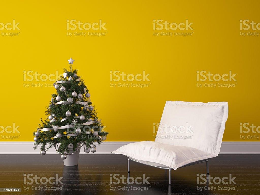 Noël Design intérieur de chambre photo libre de droits