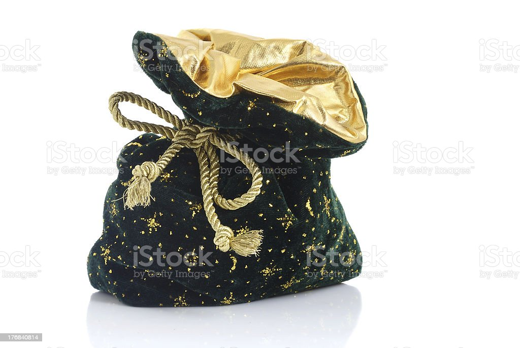 Christmas sack royalty-free stock photo