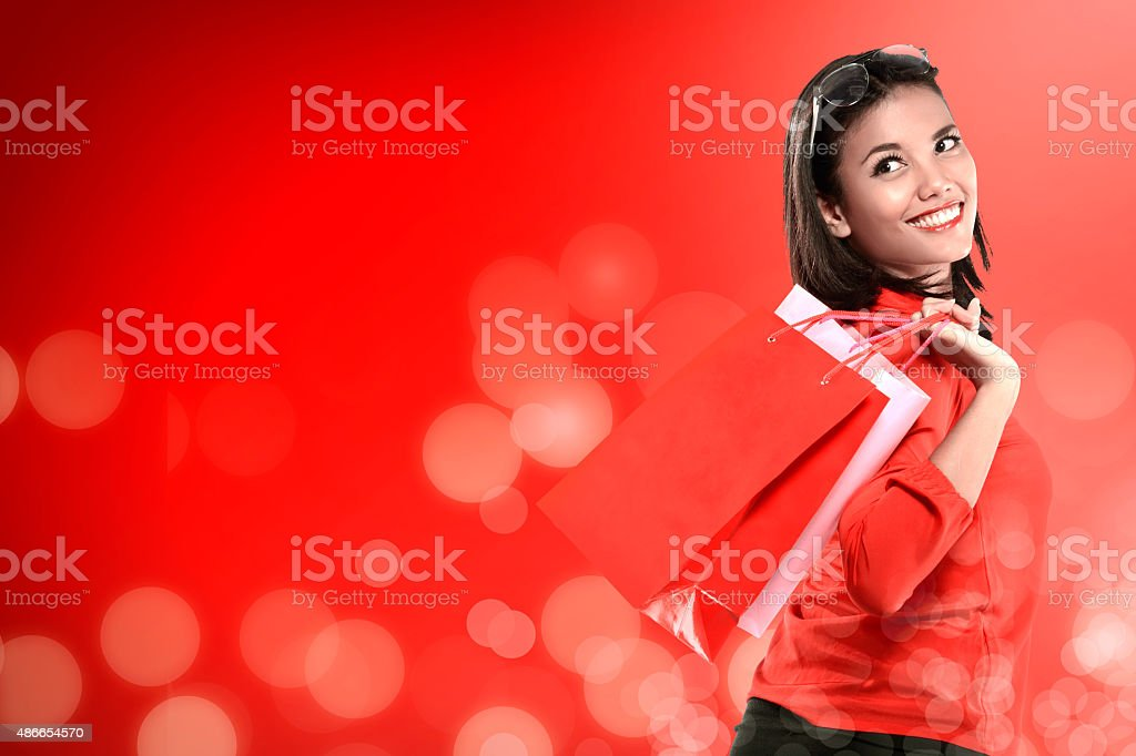 Christmas Sale Concept stock photo