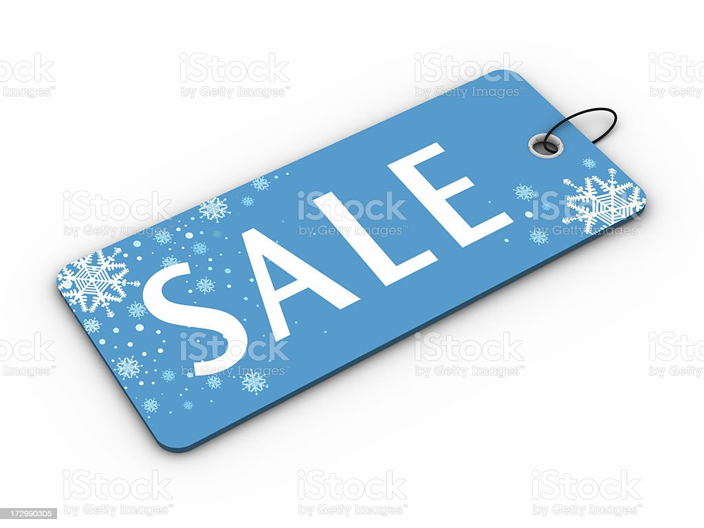 Christmas Sale royalty-free stock photo