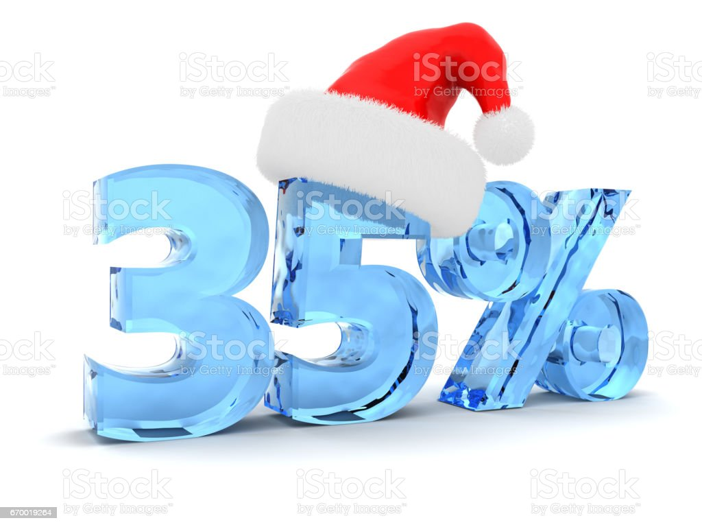 Christmas sale stock photo
