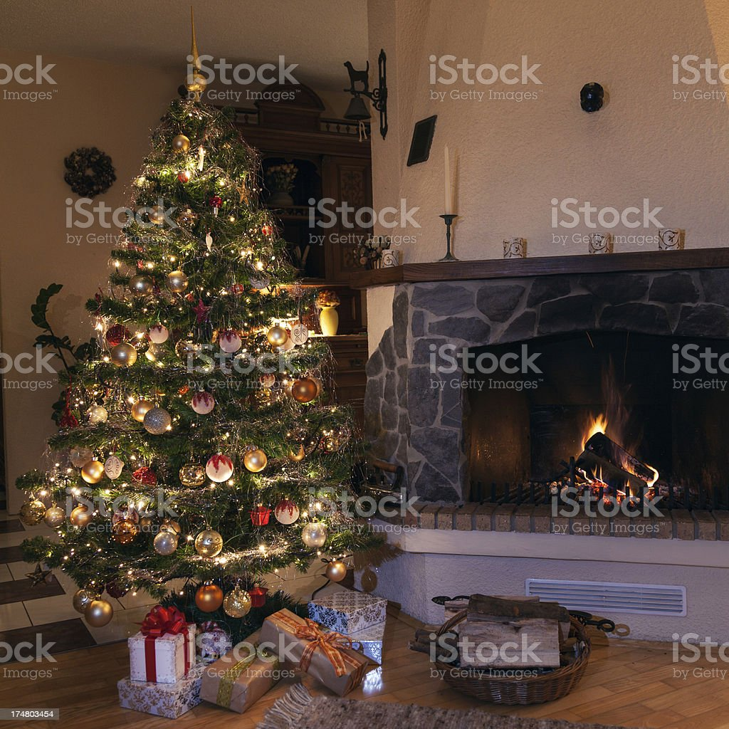 Christmas Scene royalty-free stock photo