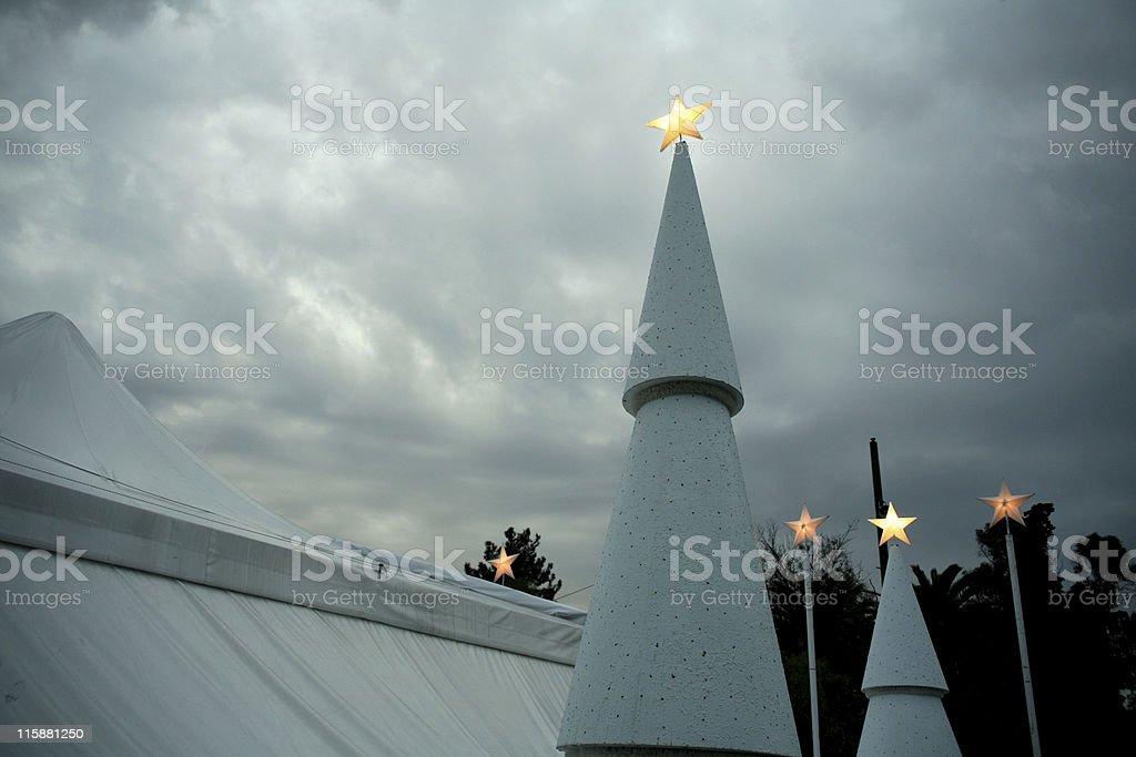 Christmas scenery royalty-free stock photo