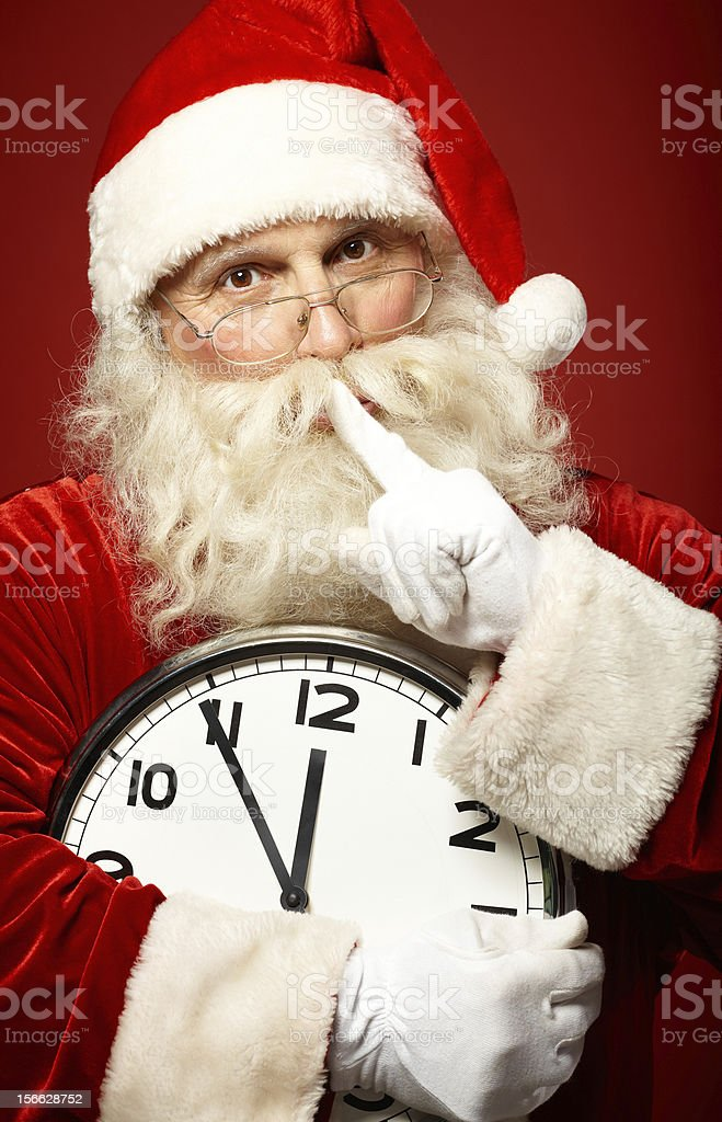 Christmas secret royalty-free stock photo