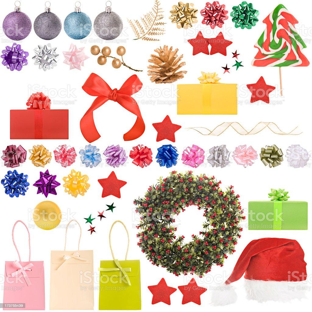Christmas selection royalty-free stock photo