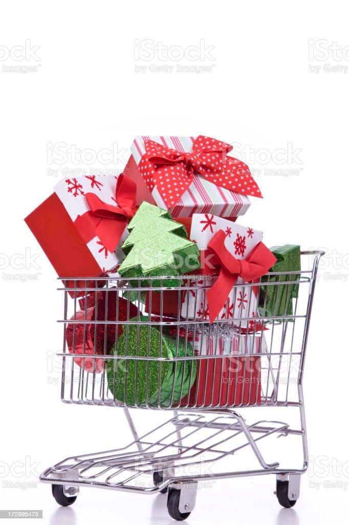 Christmas Shopping (XXL) royalty-free stock photo