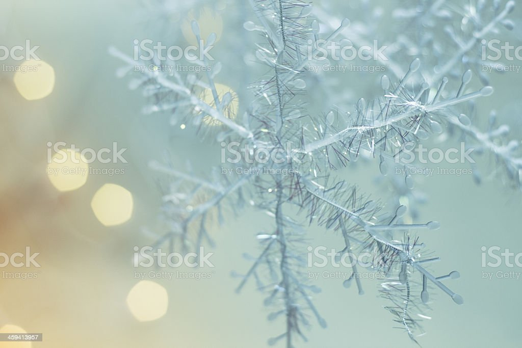 xmas snowflakes stock photo