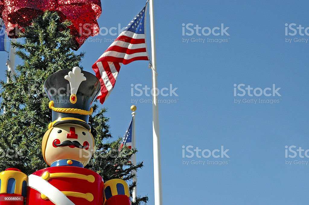 Christmas Soldier royalty-free stock photo