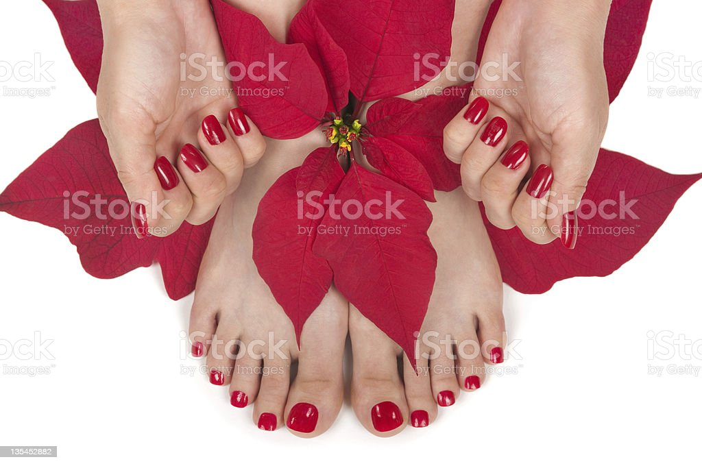 Christmas Spa royalty-free stock photo