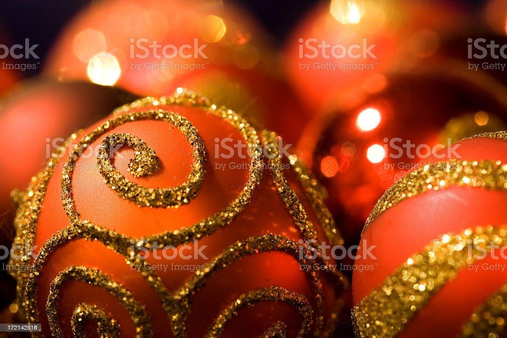 Christmas Sparkles stock photo