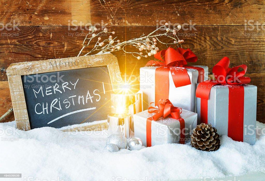 christmas spirit stock photo