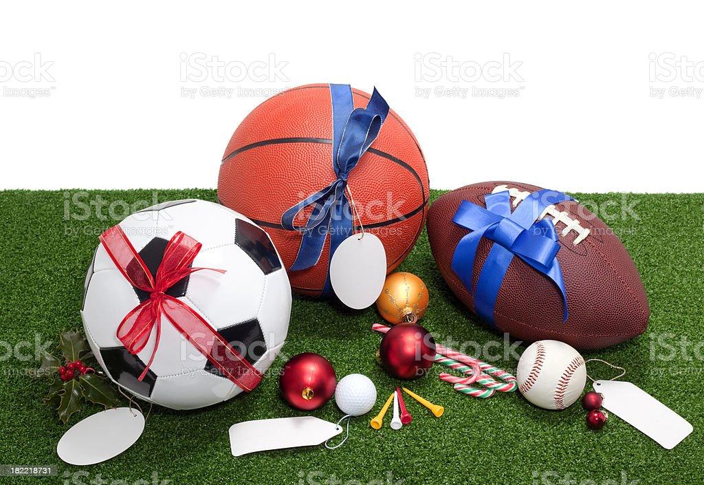 Christmas sport royalty-free stock photo