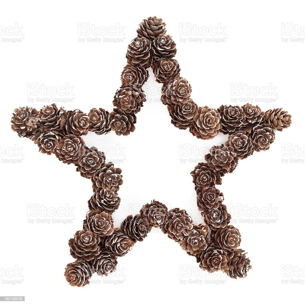 Christmas Star Decoration royalty-free stock photo