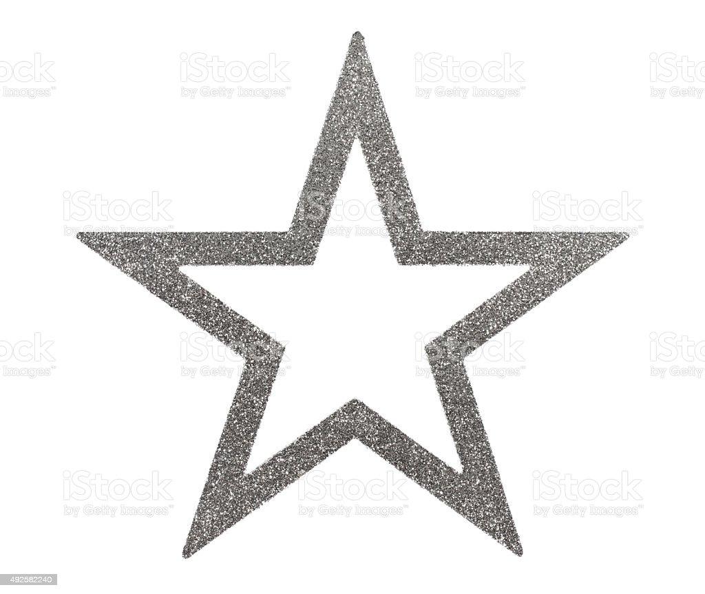 Christmas Star Decoration stock photo