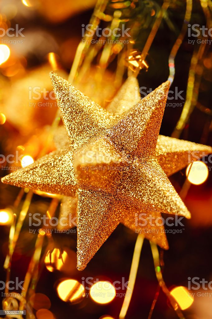 Christmas Star Ornament royalty-free stock photo
