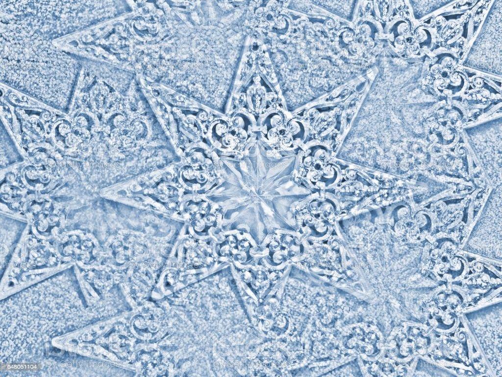 799- Christmas star pattern background stock photo