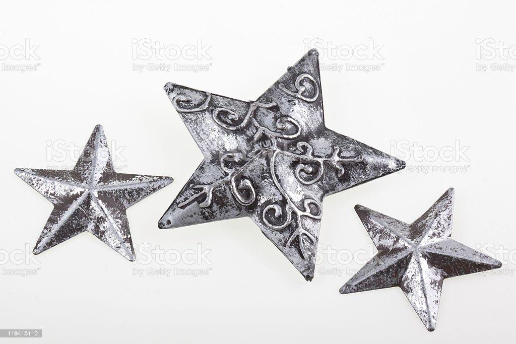 Estrelas de Natal foto de stock royalty-free