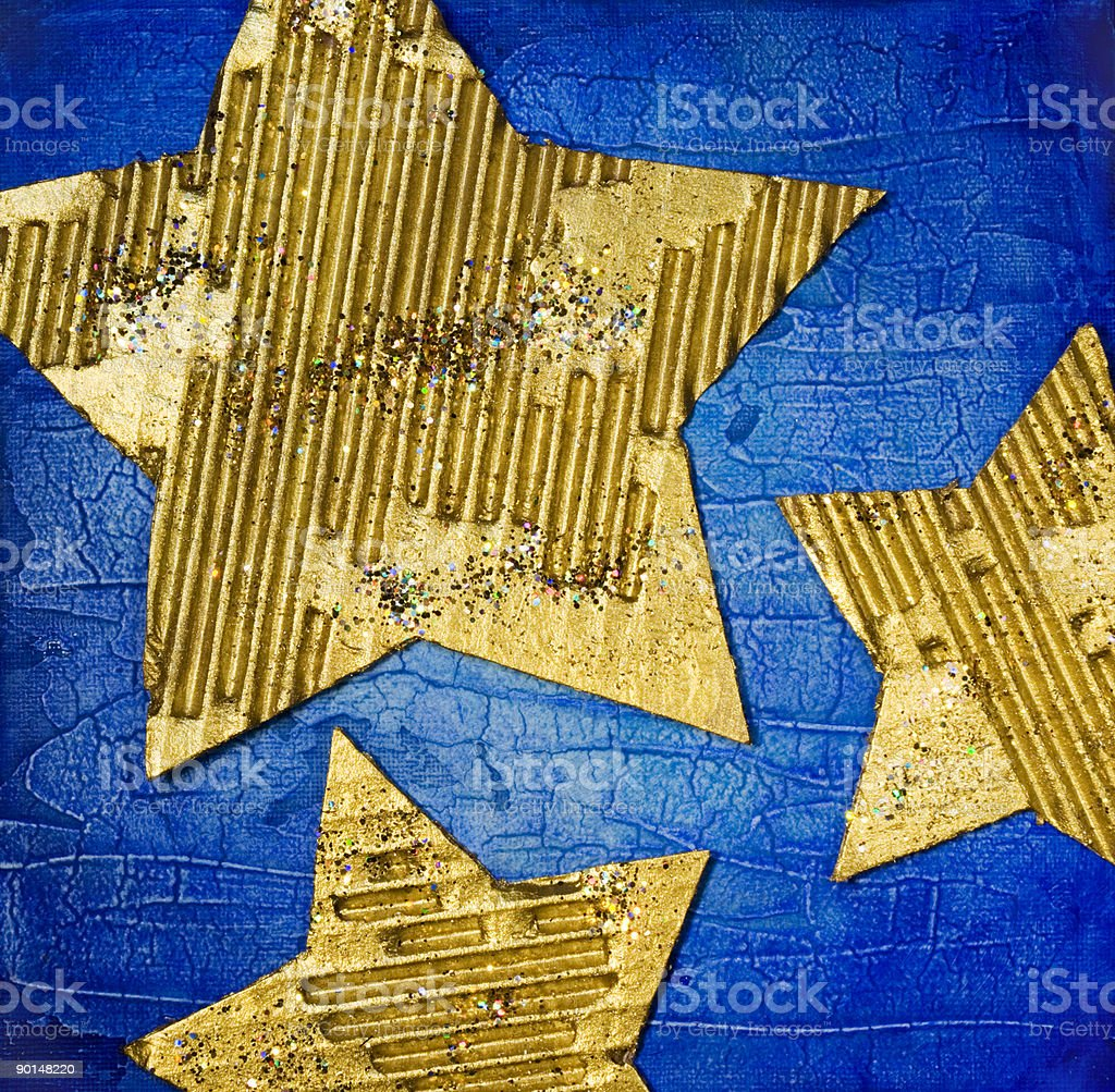 Christmas stars royalty-free stock photo