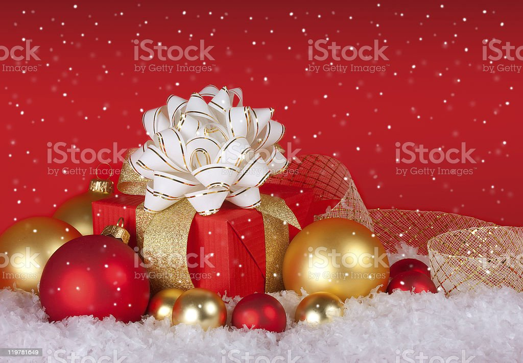 Christmas Still Life royalty-free stock photo
