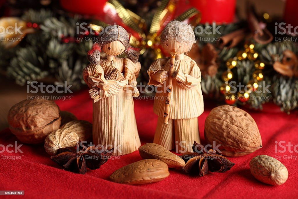 Christmas still-life royalty-free stock photo