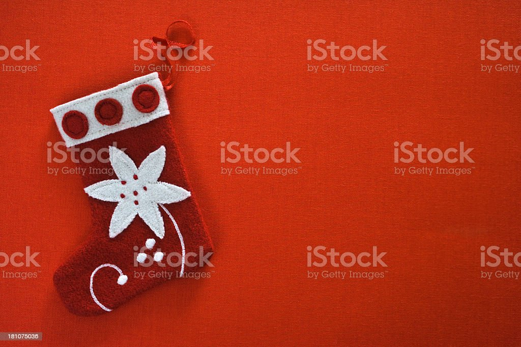Christmas Stocking royalty-free stock photo