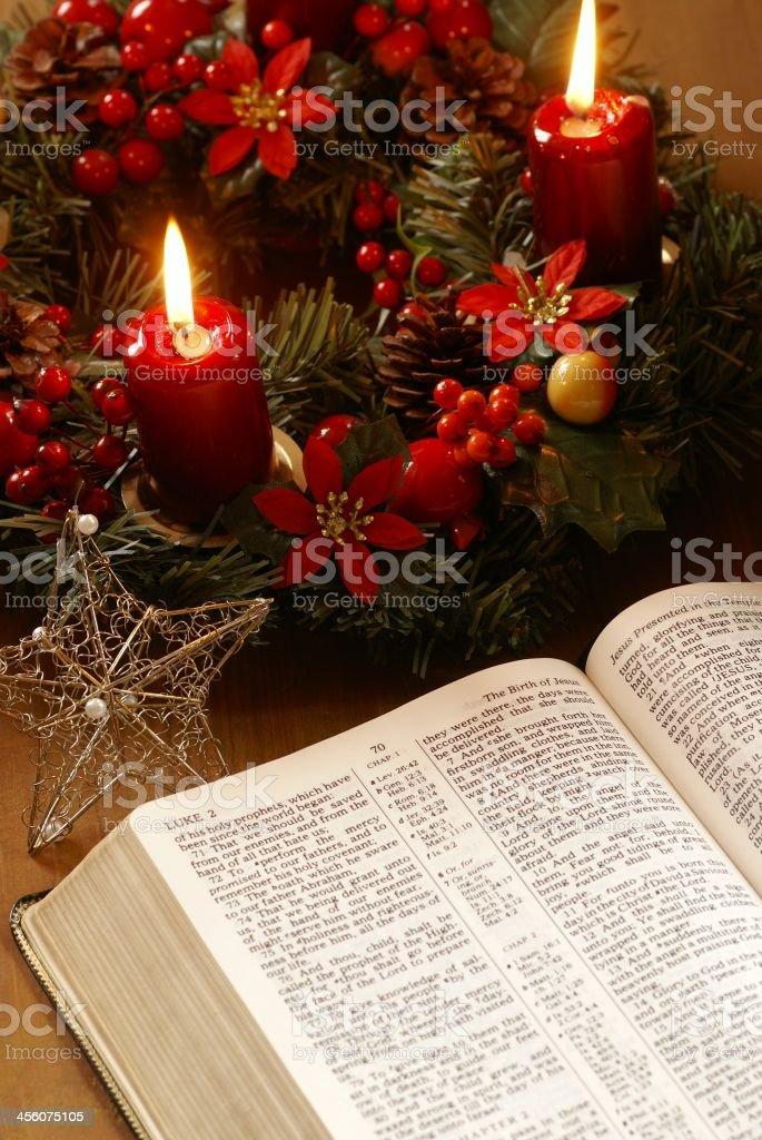 Christmas story royalty-free stock photo