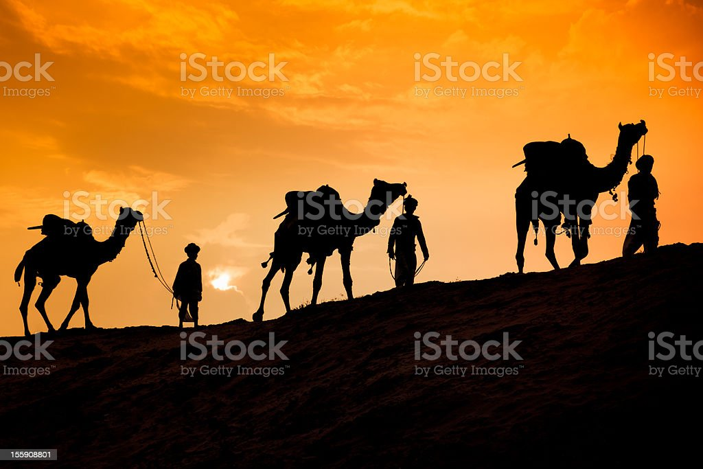 Christmas Story: Three Wise Men royalty-free stock photo