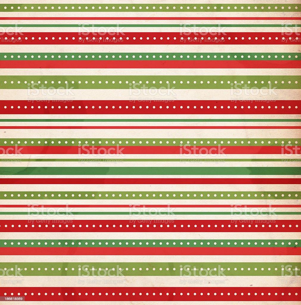 Christmas Striped Paper - XXXL stock photo