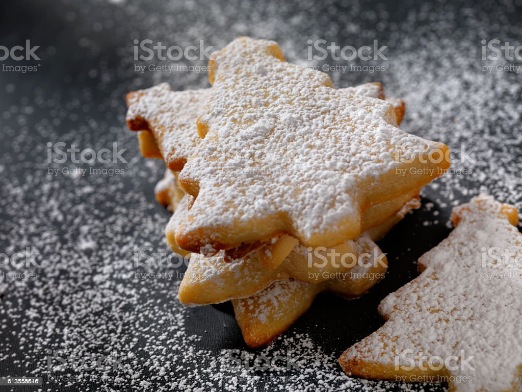 Christmas Sugar Cookies stock photo