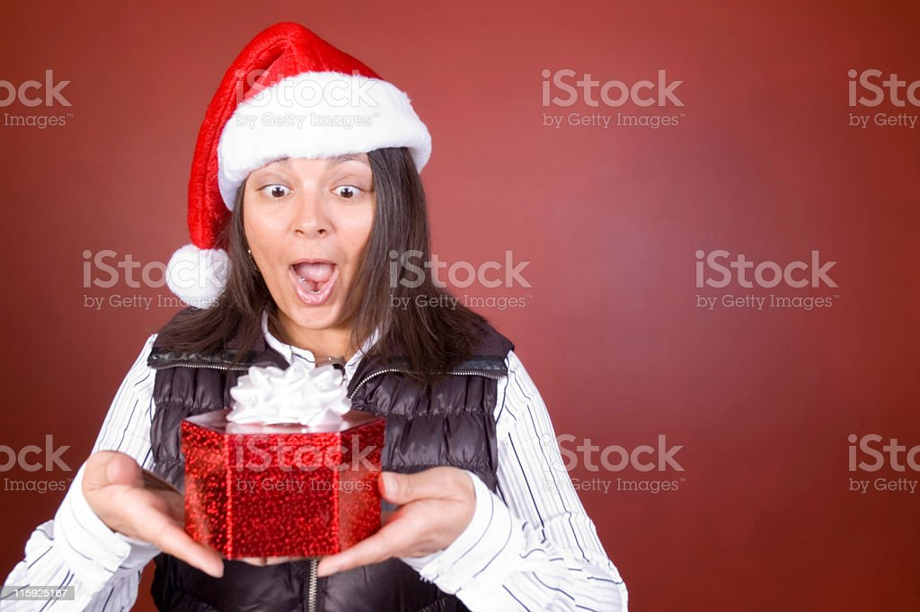 Christmas Suprise royalty-free stock photo