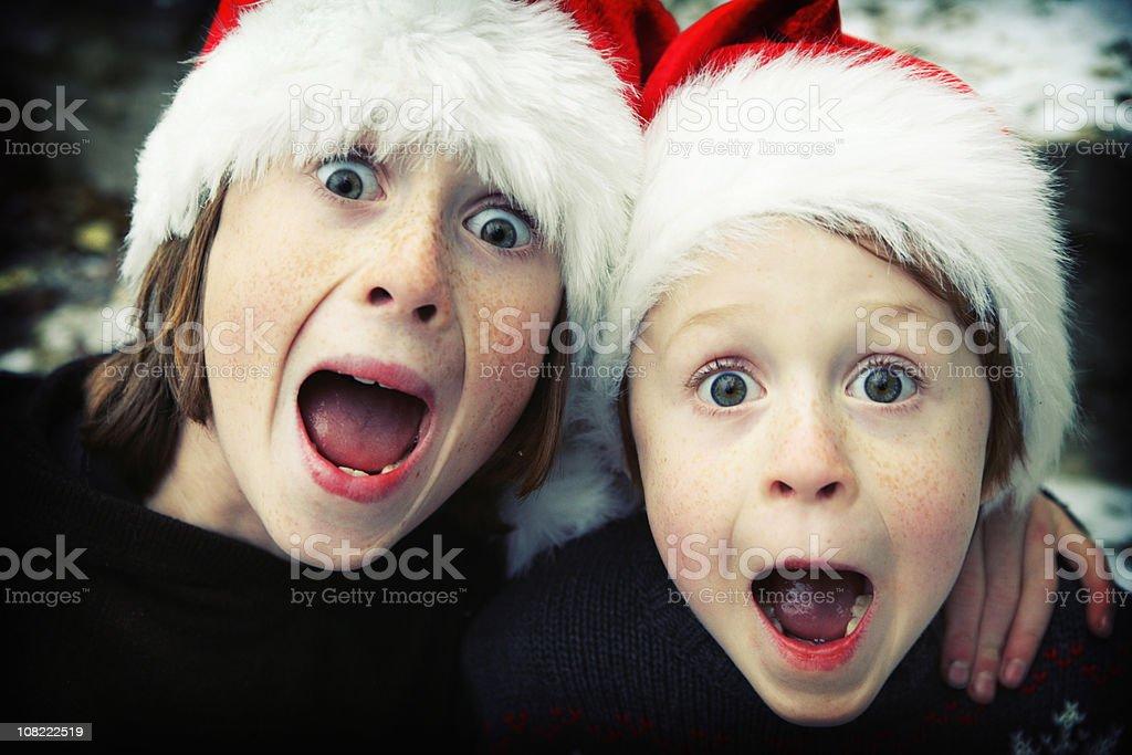 Christmas Surprise! stock photo