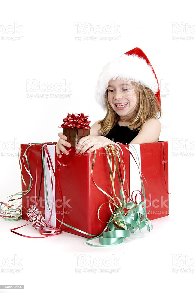 Christmas Surprise - Series royalty-free stock photo