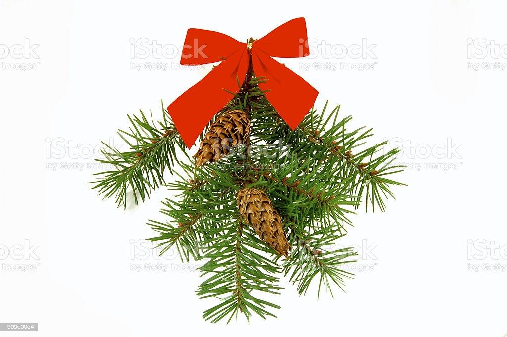 Christmas swag royalty-free stock photo